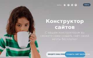Fo ru создать сайт бесплатно