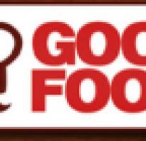 Франшиза good food