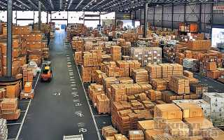 Анализ складских помещений