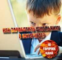 Как заработать 10000 рублей школьнику