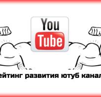 Рейтинг подписчиков youtube в россии