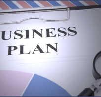 Как сделать свой бизнес план