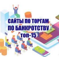 Список сайтов по банкротству