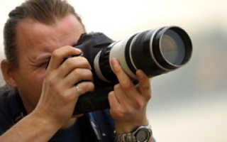 Что нужно фотографу для работы