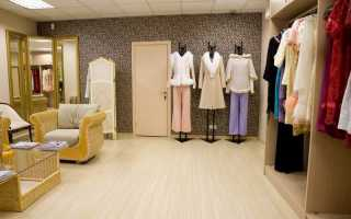Бизнес план шоу рума одежды